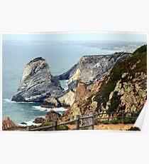 Cabo da Roca coast, Portugal Poster