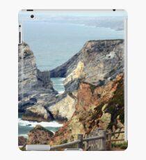 Cabo da Roca coast, Portugal iPad Case/Skin