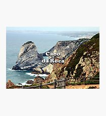 Cabo da Roca: Portugal Photographic Print