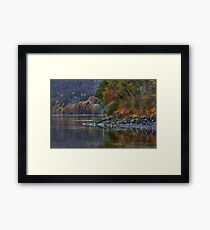 Nanoose Morning Framed Print