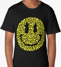 Eye Test Smiley Face Long T-Shirt