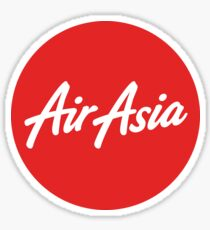 Air Asia - Now Everyone Can Fly Sticker