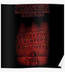 Stranger Things The Alphabet Poster