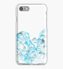 Blue Mountain Graphic iPhone Case/Skin