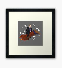 Spicy, out! Framed Print