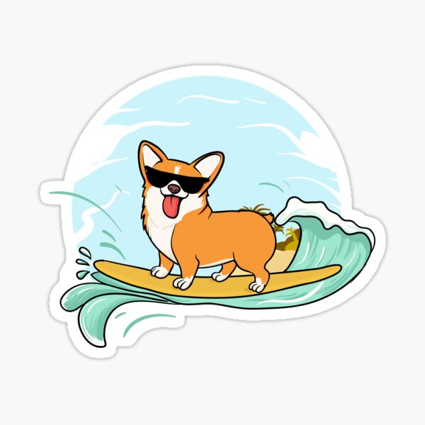 Corgi Funny Pembroke Welsh Dog Sticker