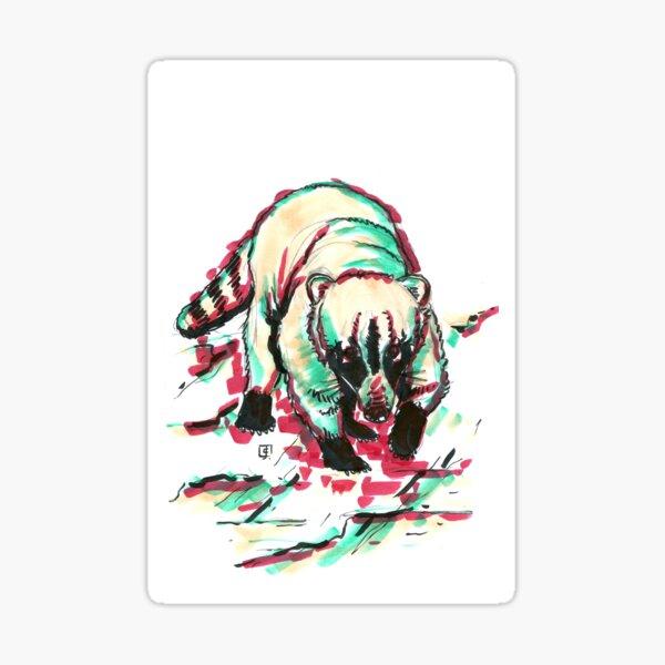Marker Critters - Coatimundi Sticker