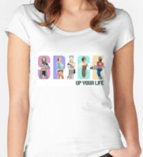 Ladies Spice Up Your Life Scoop Neck Tee - XS to XL