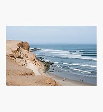 Epic Lineup - Chicama, Peru Photographic Print