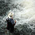 Sunday Fisherman by christiane