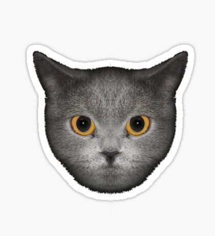 Le Chat (L) Sticker