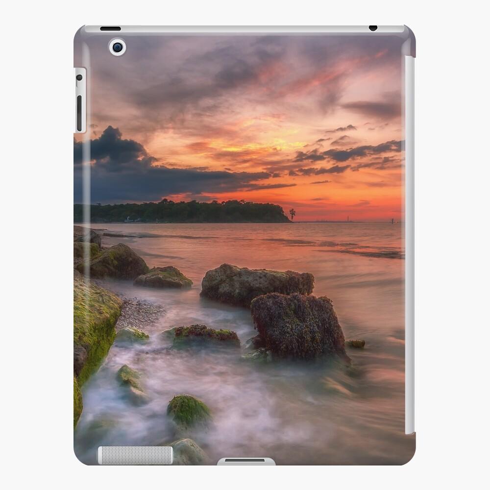 Rocky Beach Sunset iPad Case & Skin