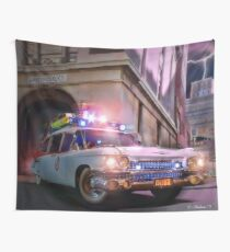 Ghostbusters - Ecto 1 Wall Tapestry