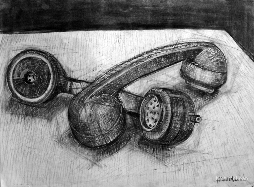 Homo-Erotic Phones (Still Life). by Rich McLean