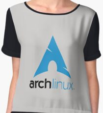 Arch Linux Merchandise Chiffon Top