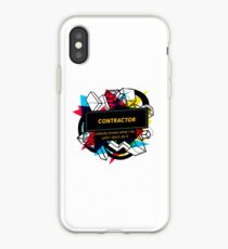 CONTRACTOR iPhone Case