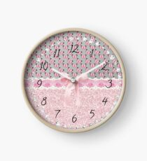 Bling and Butterflies Clock