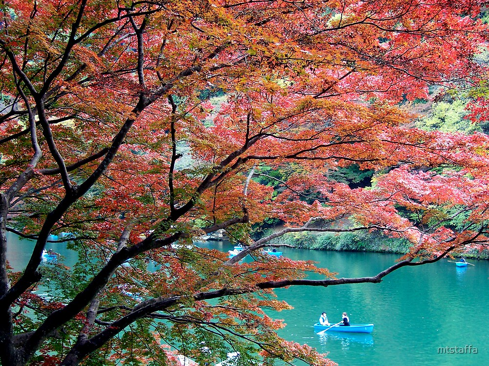 Autumn in Japan by mtstaffa