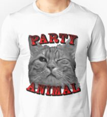 Party Animal Cat  T-Shirt