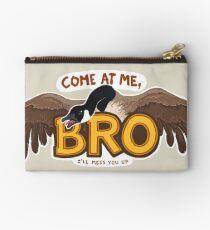 """Come at me BRO"" Canada Goose Zipper Pouch"