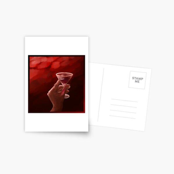 Wine & Oil Postcard