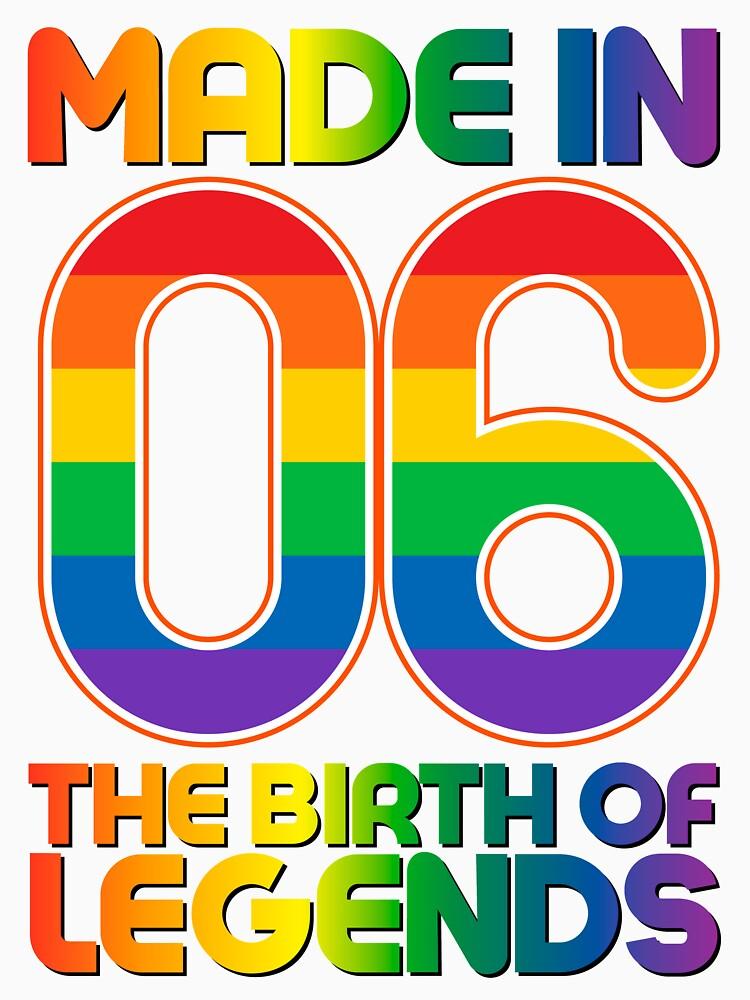 11. Jahre alter Geburtstag Vintage Made in 2006 Geschenkideen von bestdesign4u