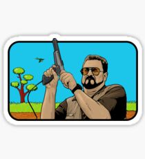 Duck hunting on Shabbos (Digital Duesday #1) Sticker