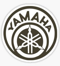 Yamaha Round Emblem Sticker