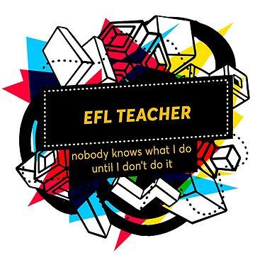 EFL TEACHER by andrews21