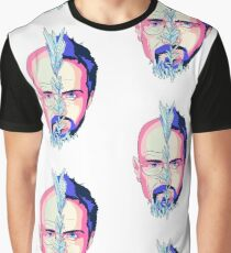 Blue Crystal Graphic T-Shirt