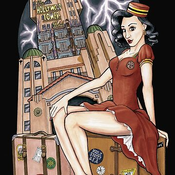 Tower of Terror Pinup by Kohrsfilms