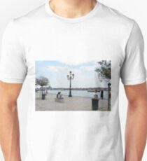 6 June 2017 People on the promenade near the canal in Venice, Italy T-Shirt