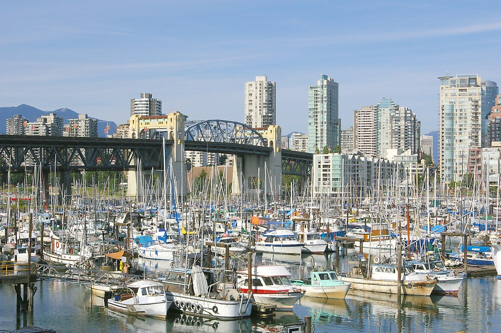 View From Granville Island by Tom  Reynen