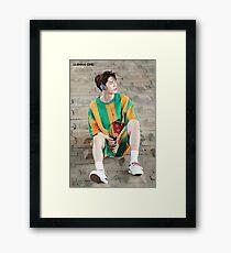 WANNA-ONE (황 미현) ft. Ong Seongwoo (옹 성우) Teaser Photo Framed Print