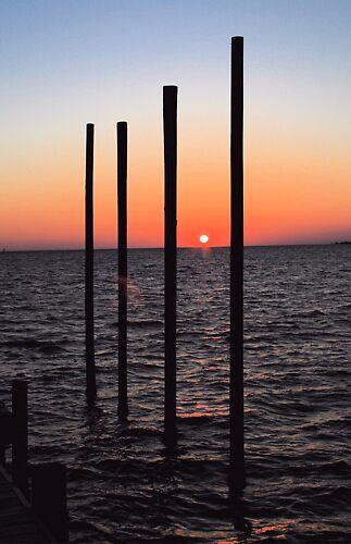 Vertical Sunset by JTomblinson