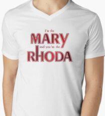 I'm the Mary [Romy and Michele] Men's V-Neck T-Shirt