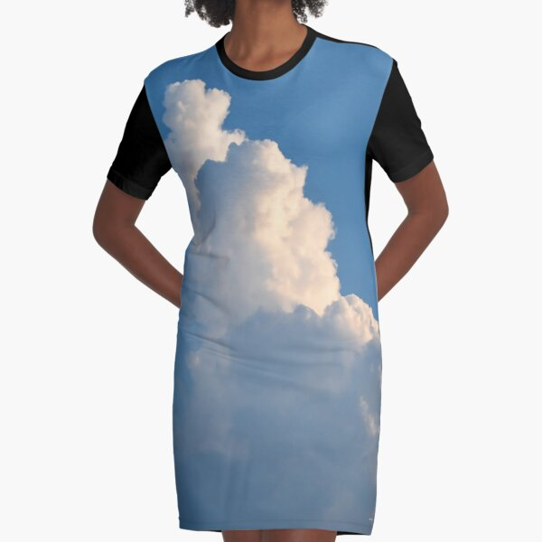 Floating Graphic T-Shirt Dress