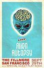 Alien Autopsy poster art by Brett Gilbert