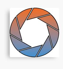 Portal- Aperture Science Gradient Canvas Print