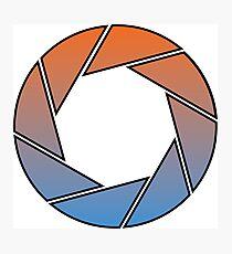 Portal- Aperture Science Gradient Photographic Print