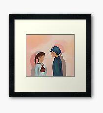 Ghibli Shun and Umi Framed Print