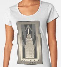 NY Chrysler Building Women's Premium T-Shirt