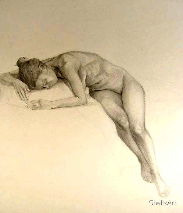 Sleeping Sarah by ShellzArt
