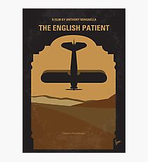 No361- The English Patient minimal movie poster Photographic Print
