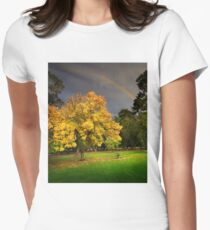 Coburg Lake Reserve Women's Fitted T-Shirt