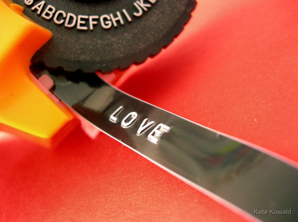 love tape by kate kowald