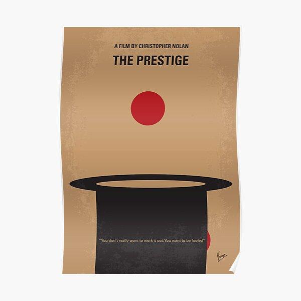 No381- The Prestige minimal movie poster Poster