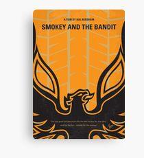No398- smokey and the bandits minimal movie poster Canvas Print