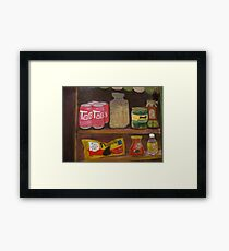TAB IN THE HOUSE Framed Print
