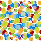 Colorful Circles by illustrateme